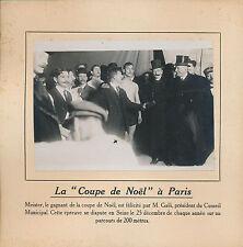 PHOTO PRESSE c.1910 - Coupe de Noël à Paris  Nageurs  - 228