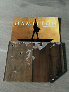 Piece of Stage Floor Hamilton Musical Public Theater Lin Manuel Miranda Prop