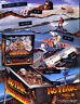 NO FEAR Pinball Machine Flyer Original NOS Promo Game Artwork 1995 Williams