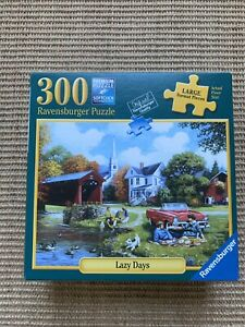 Ravensburger Jigsaw Puzzle - Lazy Days 80 964 - 300 Large Piece Format Complete