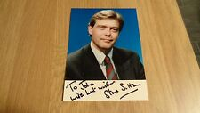Autographed Colour Photograph of Steve Sutton (BBC Sports Presenter)