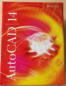 AutoCAD Autodesk Autocad 14 deutsch mit Dongle incl. Seriennummer und CD-Key