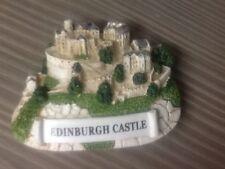 .Scottish souvenir fridge magnet Edinburgh Castle 3 d