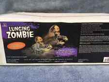 Halloween Animated LUNGING ZOMBIE REAPER Prop Haunted House NEW
