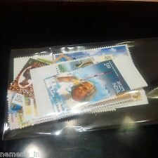 India 2015 Stamps Complete Year Pack/ Book Set Collection! Private Mint NH!~