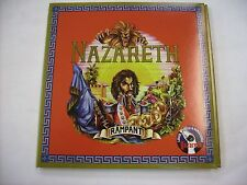 NAZARETH - RAMPANT - CD NEW UNPLAYED VINYL REPLICA 2010 W/BONUS TRACKS