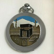 Watch Pocket Molnija Ussr Vintage Soviet 18 Jewels Russian mecca kaaba muslim