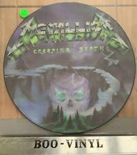 Metallica Creeping Death Picture Disc P12 KUT 112 Nr Mint Con Superb Pic Inc