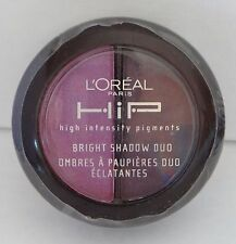 LOREAL HIP Eye shadow Eyeshadow Bright Shadow Duo - RECKLESS 514 with mirror