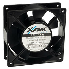 x-Fan -Fan X-Fan Axial Cooling Fan 120 x 120 x 38mm Sleeve Bearing 230v AC Mains