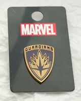 Disney GOTG Logo Lapel Pin New NOS MOC Guardians of Galaxy Shield