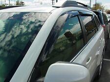 Tape-On Wind Deflectors: 2010-2012 Subaru Outback