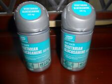 Boots vegetarian Glucosamine 500ml x 2 lot 60 tables in each new & sealed