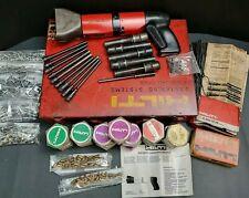 LOADED! HILTI DX-600N Heavy Duty Powder Actuated Gun kit
