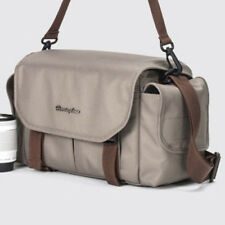 Herringbone D-SLR Camera Shoulder Bag Small (Beige) for Canon Nikon Sony Olympus