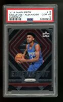 2018 Panini Prizm Emergent 11 Shai Gilgeous-Alexander Thunder Clippers RC PSA 10