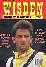 MARK WAUGH / BOB WILLIS / DAVID GOWERWisden Cricket MonthlyMar1991