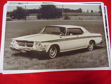 1964 CHRYSLER 300  COUPE   11 X 17  PHOTO  PICTURE
