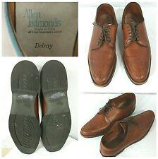 Allen Edmonds Delray Split Toe Derby Oxford Shoes Brown Dark Chili Size 10.5 A