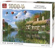 1000 Pièces Petite maison Collection Puzzle À Assembler VIEUX RIVIÈRE
