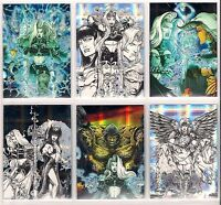 1997 LADY DEATH 4 IV Wicked Ways Chromium FRACTAL Chase card Singles
