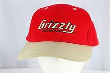 Grizzly Industrial Red/Tan Baseball Hat Snapback