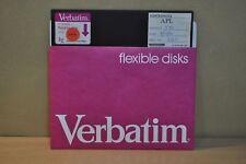 APL Ver: 2.3 C , /8/17/80, Manufacturer: Softronics,  8' inch Software !