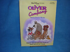 Walt Disney's Oliver & Company Movie Poster Book, a Book is also a Poster