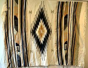 Southwestern Tribal Tapestry Wall Hanging 4040 Locust Earth Tones Geometric Boho