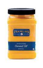 Butter Flavored Coconut Oil by Franklin's Gourmet Popcorn. 30 o... Free Shipping