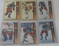 1994-95 Upper Deck UD SP Inserts Winnipeg Jets Team Set 6 Hockey Cards