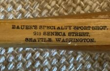 Antique EDDIE BAUER SPORT SHOP Tennis Racquet Racket Go Getter 1920's Seattle