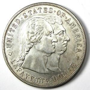1900 Lafayette Commemorative Silver Dollar $1 - AU Details - Rare Type Coin!