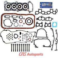 REF# HS9816PT-1 ES72192 Fits 95-99 Nissan Sentra 1.6 Full Gasket Set Bolt GA16DE