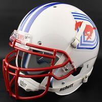*CUSTOM* SMU MUSTANGS NCAA Schutt XP Authentic GAMEDAY Football Helmet