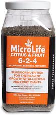 MicroLife Organic Biological Fertilizer Citrus and Fruit 6-2-4, 7lbs
