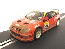 SCX 6104 CITROEN XSARA T4 WRC Red Lights & 4x4 FANGO Weathered Scalextric Slot Car