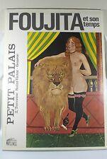 SEALED FOUJITA PETIT PALAIS GALLERY EXHIBITION LION TAMER POSTER PRINTED ITALY