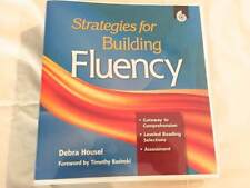Strategies For Building Fluency by Debra Housel SHELL EDUCATION Book Binder CDs