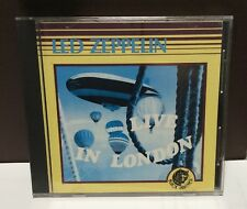 LED ZEPPELIN Live in London 1969 CD Italy BPCD 003 Black Panther 1989