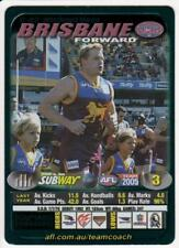 2005 AFL Teamcoach Subway Green Captain Wild Card - Michael Voss