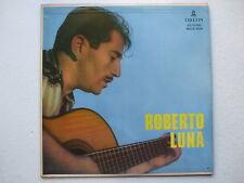 ROBERTO LUNA - ORQ. HECTOR LAGNA FIETTA LP MONO 1958 BRAZIL JAZZ CHORO SAMBA EX