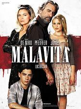 AFFICHE MALAVITA Robert De Niro Rare Glossy Vinyl 4x6 Movie Poster Original 2013