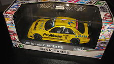 MINICHAMPS 1.43 MERCEDES BENZ C 180 DTM 1995 PRESENTATION S GRAU #5  OLD STOCK