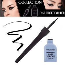 Collection Fast Stroke Waterproof Eyeliner Highly Pigmented Eye Colour - Black