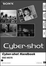 Sony DSC-W370 Cyber-Shot Handbook Operating Instruction Manual