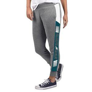 NFL Philadelphia Eagles Officially Licensed Women's Fleece Tailgate Pants G-III