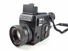 DEMO MUSTER ROLLEIFLEX SL 2000 F 35MM FILM MANUAL SLR CAMERA PLANAR LENS AS-IS