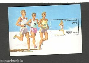1988 Belgium SCOTT #B1074 SUMMER OLYMPICS RUNNING MNH souvenir sheet