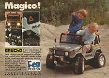 X1448 Gaucho - Peg Perego - Pubblicità del 1990 - Vintage advertising